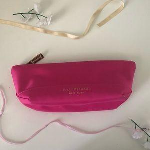 Isaac Mizrahi hot pink Makeup Bag
